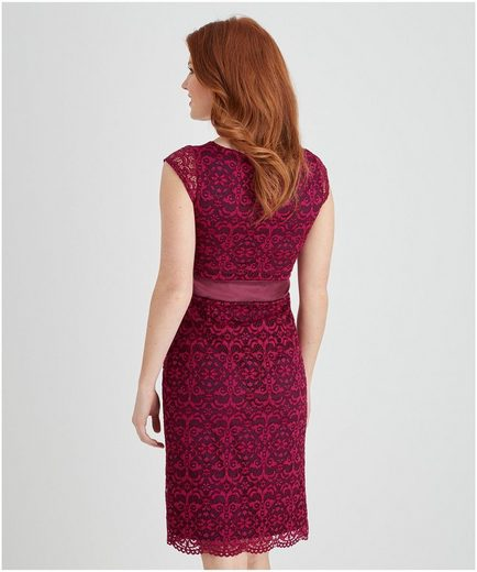 Joe Browns Cocktail Dress Luscious Lace, With Short Sleeves