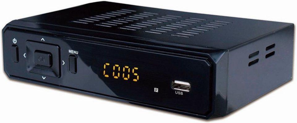 denver dvb s2 satelliten receiver dvbs 202hd mit usb anschluss online kaufen otto. Black Bedroom Furniture Sets. Home Design Ideas