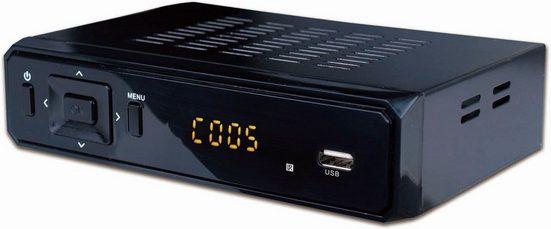 Denver DVB-S2 Satelliten-Receiver »DVBS-202HD mit USB-Anschluss«