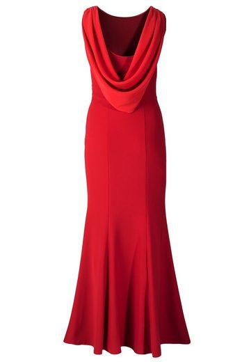 Evening Dress Apart Back Cutout