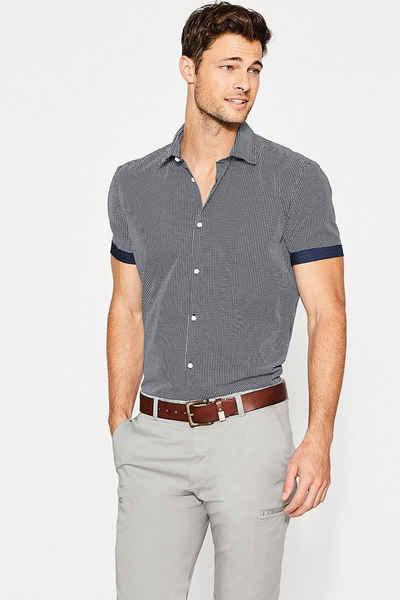 ESPRIT COLLECTION Popeline-Hemd aus 100% Baumwolle Sale Angebote Roggosen