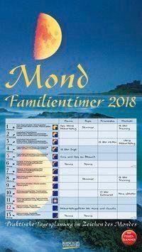 Kalender »Mond Familientimer 2018«