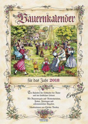 Kalender »Bauernkalender für das Jahr 2018«