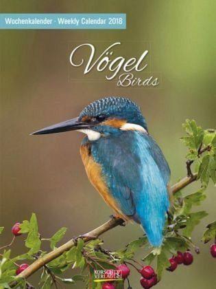Kalender »Vögel 2018 Foto-Wochenkalender«