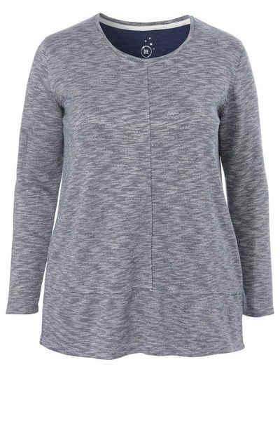 VIA APPIA DUE Langarm-Shirt mit Ziernähten Sale Angebote Felixsee