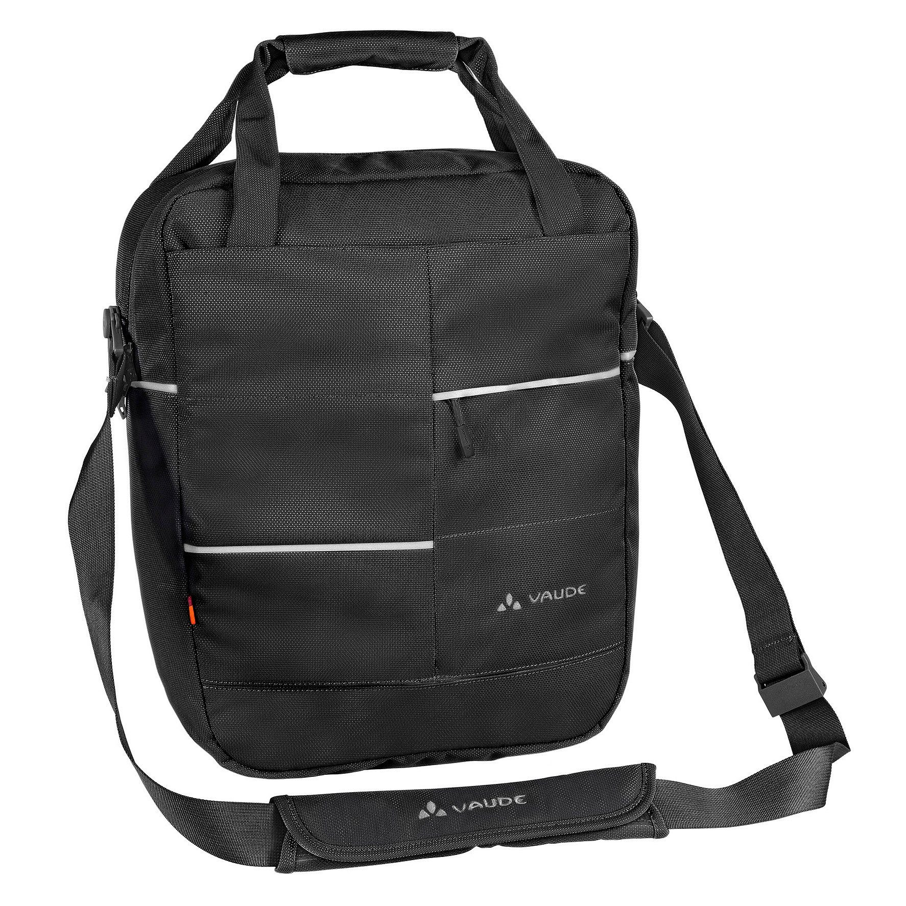 VAUDE Gepäckträgertasche »Reva black«