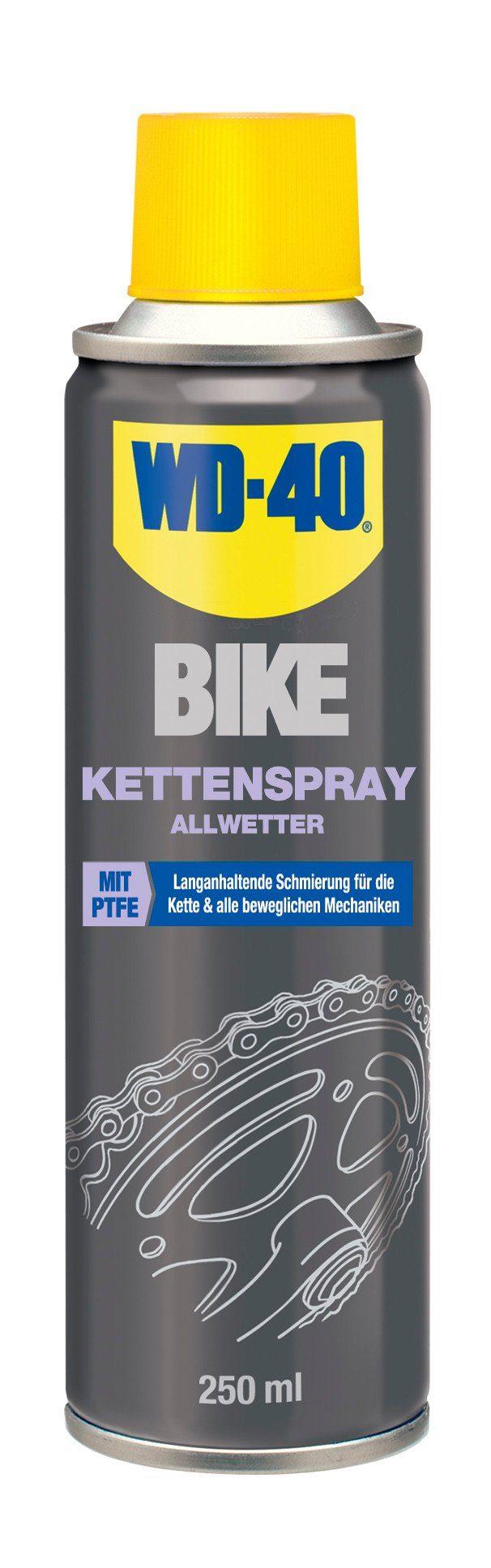 WD-40 Fahrrad Reiniger »BIKE Kettenspray Allwetter 250 ml«