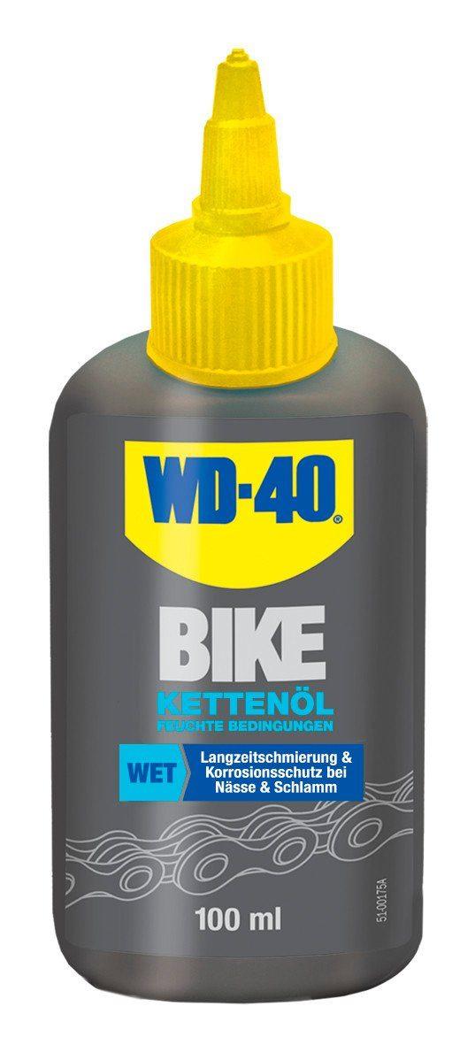 WD-40 Fahrrad Reiniger »WD-40 BIKE Kettenöl Feucht 100ml«