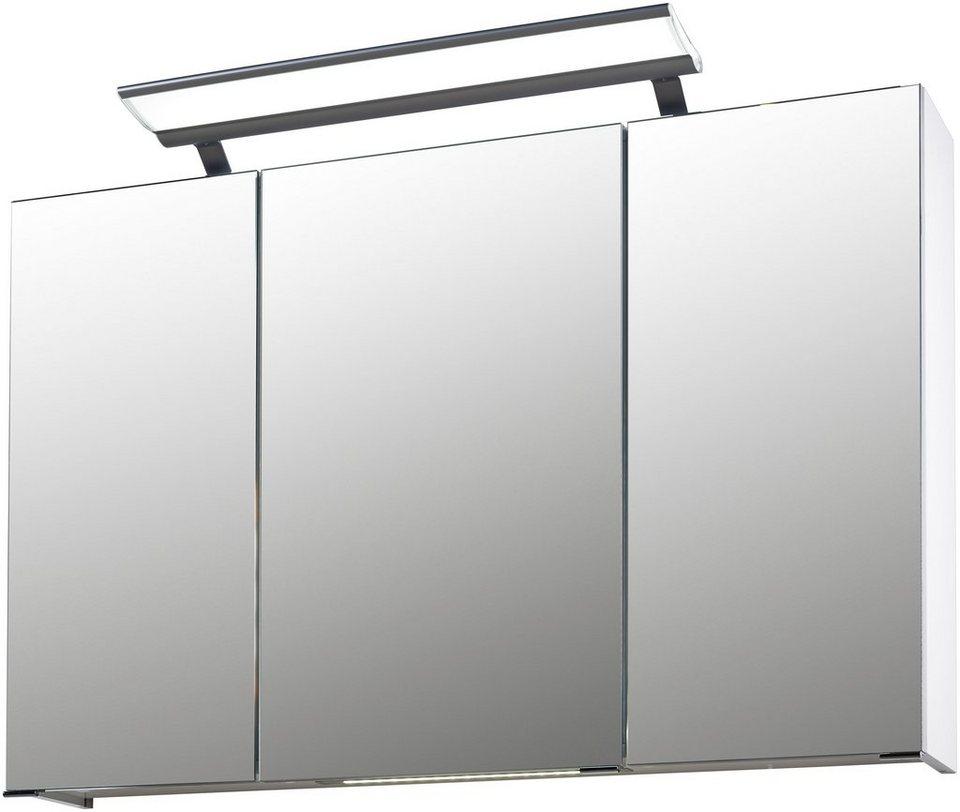Schildmeyer spiegelschrank linus breite 100 cm otto for Schildmeyer spiegelschrank