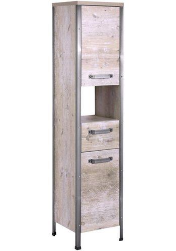 SCHILDMEYER Hochschrank Harkon, Breite 34,5 cm braun   04027181097335