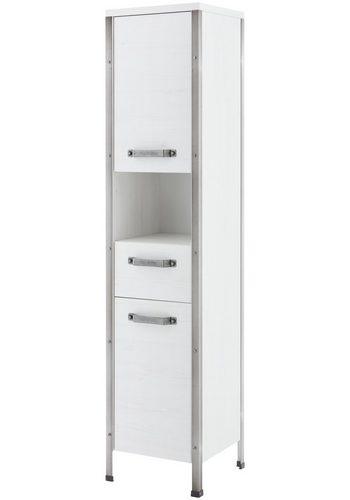SCHILDMEYER Hochschrank Harkon, Breite 34,5 cm weiß | 04027181099605