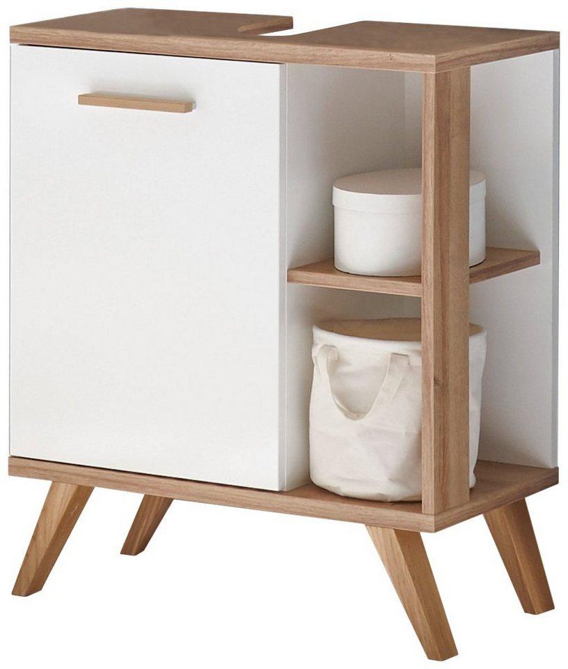Wunderbar Waschbeckenunterschrank Bambus Zeitgenössisch ...
