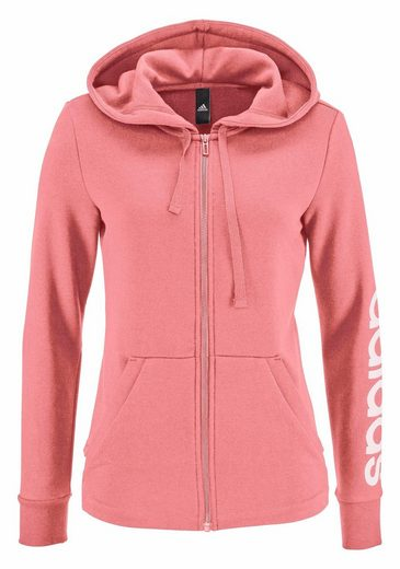 adidas Performance Kapuzensweatjacke ESSENTIALS LINEAR FULLZIP HOODIE