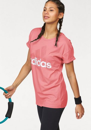 adidas Performance T-Shirt ESSENTIALS LINEAR LOOSE TEE