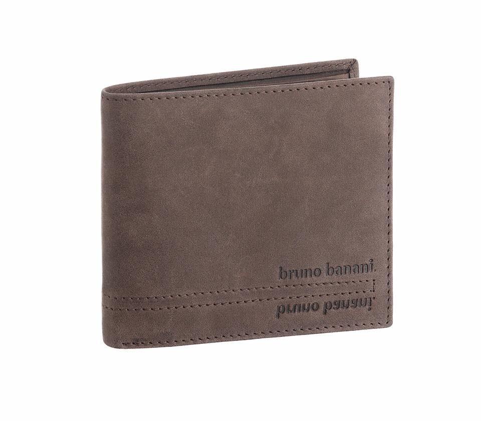 Bruno Banani Geldbörse, aus Leder im schönen Format