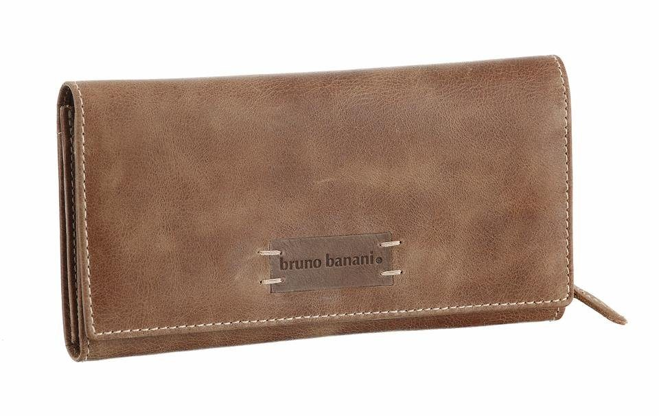 Bruno Banani Geldbörse, aus Leder