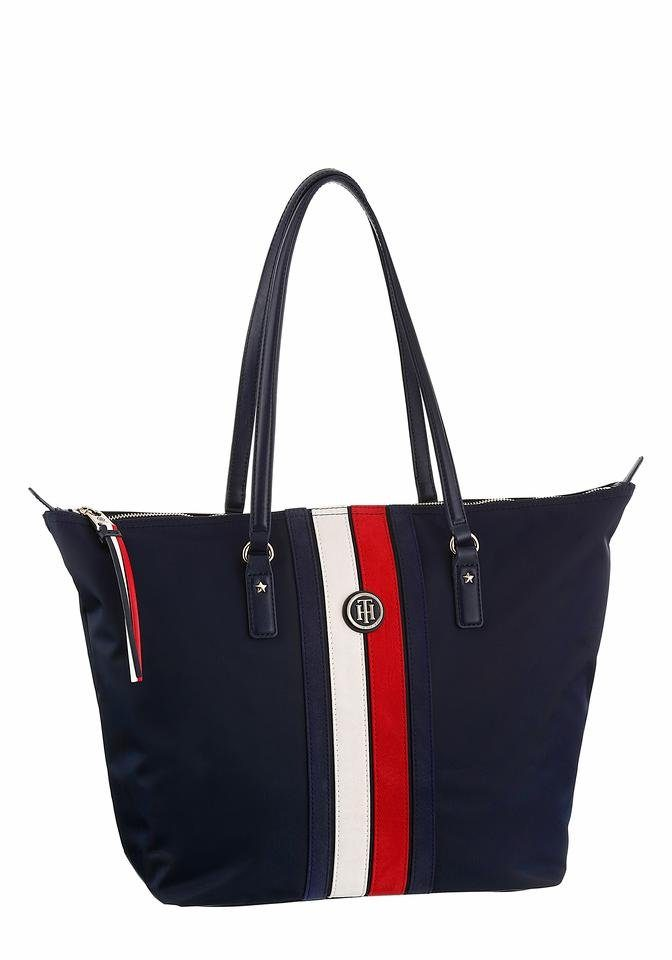 Tommy Hilfiger Shopper »POPPY TOTE CORP STRIPE«, in schönem Design