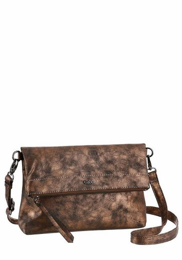 Gabor Umhängetasche ELISA, Crossbody Bag mit Shiny Finish