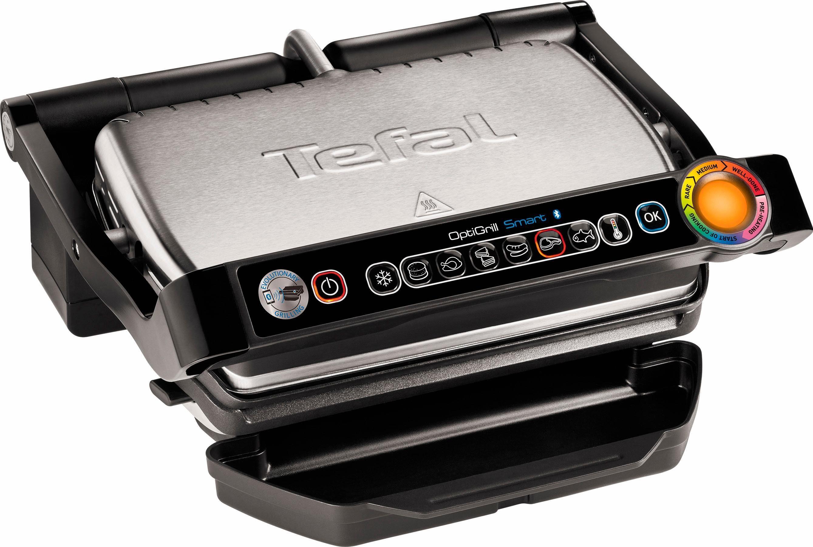 Tefal Tischgrill GC730D Optigrill, 2000 W, 2000 Watt