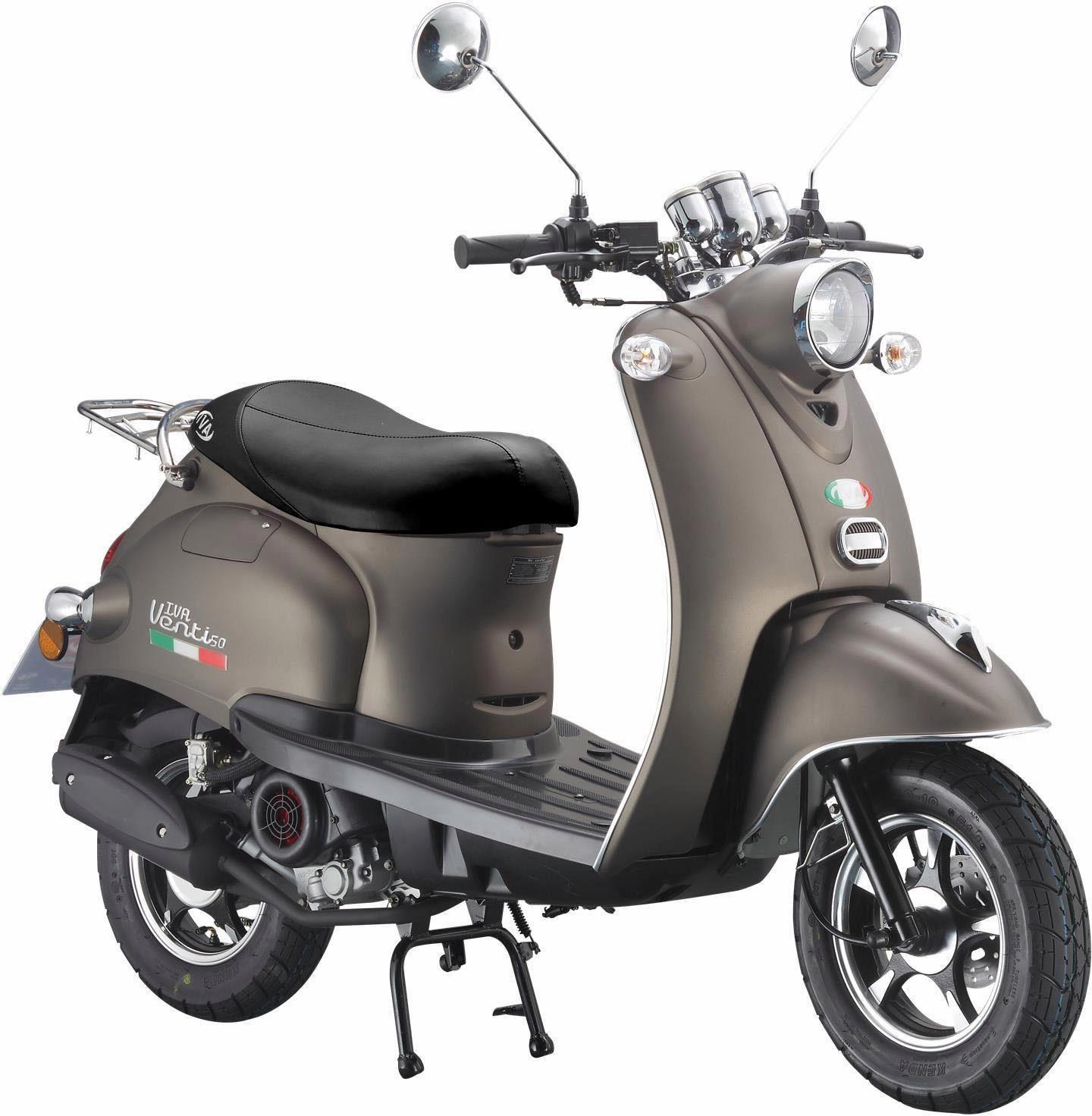 IVA Motorroller 49 ccm, 3 PS, 45 km/h, für 2 Personen, »VENTI«