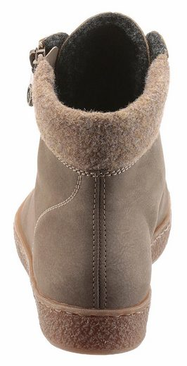 Rieker Schnürboots, With Padded Edge Of Felt
