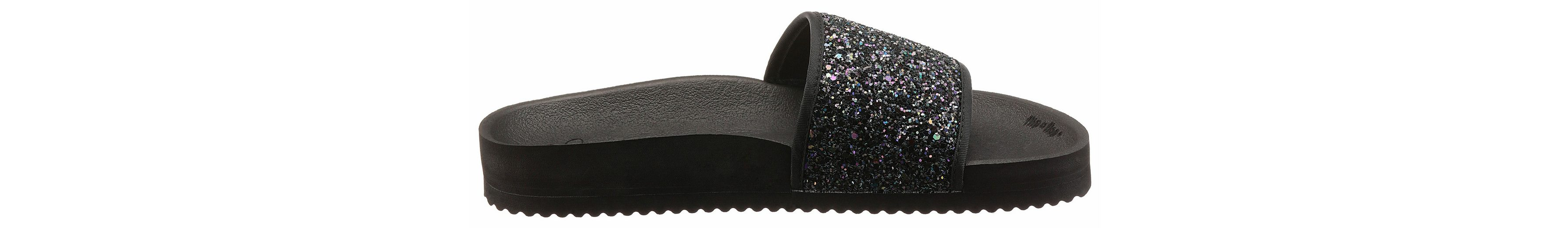 Flip Flop Pantolette, mit Glitter