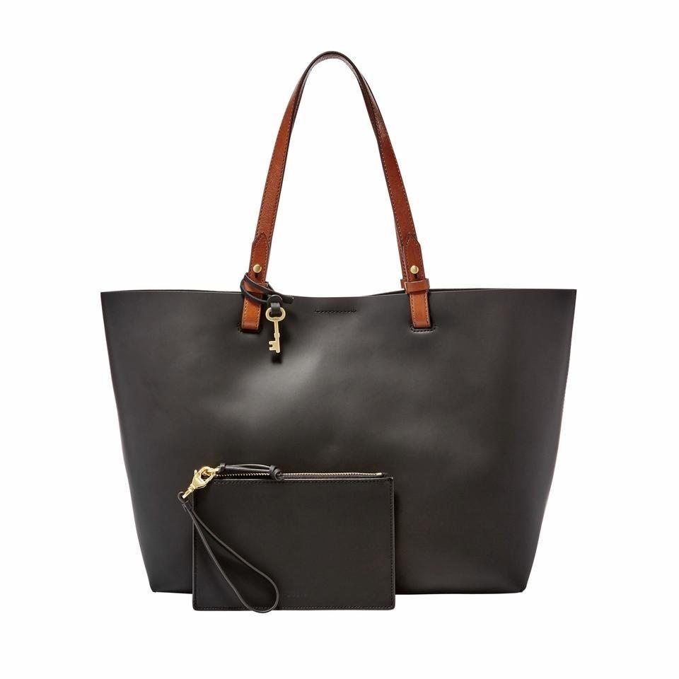 Fossil Shopper »RACHEL TOTE«, aus echtem Leder mit kleiner Reißverschluss-Tasche | Taschen > Umhängetaschen | Fossil