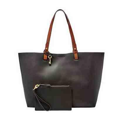 Fossil Shopper »RACHEL TOTE«, aus echtem Leder mit kleiner Reißverschluss-Tasche