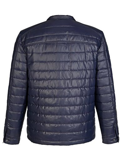 Roger Kent Quilted Jacket With Stehkragen