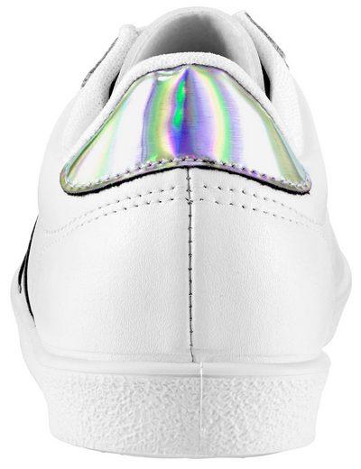 Heine Sneaker mit Metallic-Effekt
