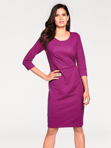 ASHLEY BROOKE by Heine Jerseykleid mit Raffungen