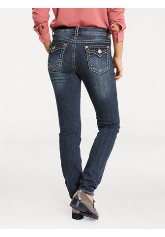 HEINE CASUAL джинсы Alwa с Kontrast-Stitchin...