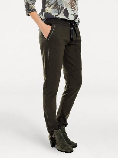 Bc Best Connections By Heine Shirt Trousers With Side-jewelry Applications