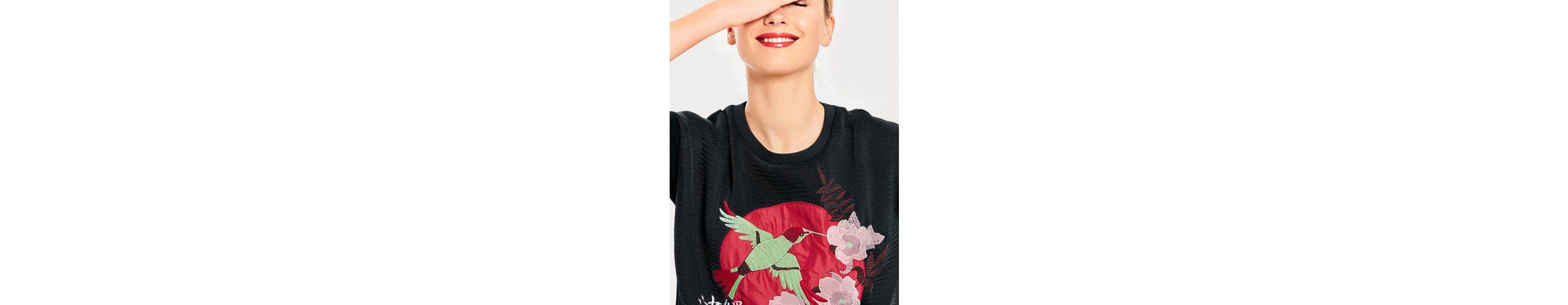 B.C. BEST CONNECTIONS by Heine Sweatshirt mit Stickerei Discounter Verkauf Extrem Online-Shopping Günstigen Preis Vs9MQ