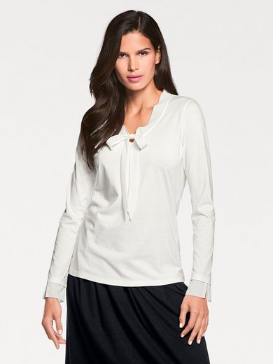 Ashley Brooke By Heine V-shirt With Schluppe