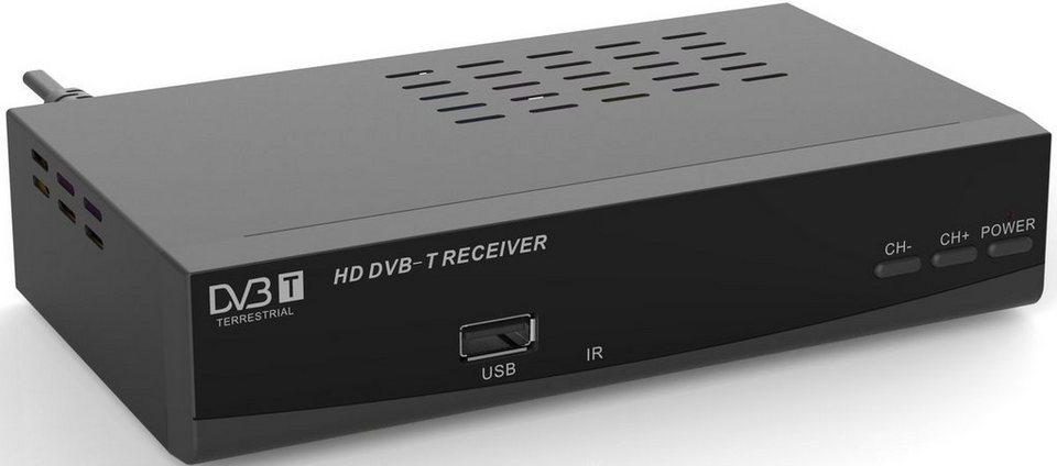denver dvb t2 hd receiver dtb 136h mit usb anschluss. Black Bedroom Furniture Sets. Home Design Ideas