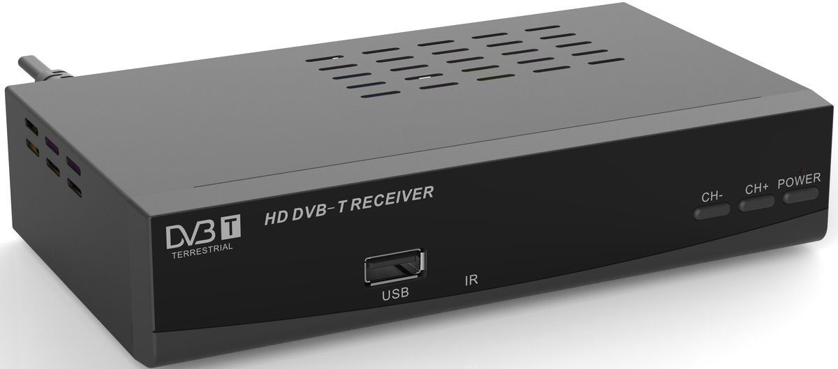 Denver DVB-T2 HD-Receiver »DTB-136H mit USB-Anschluss«
