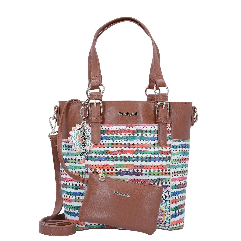 Desigual BOLS Mini Argentina New Marin Shopper Tasche 24 cm