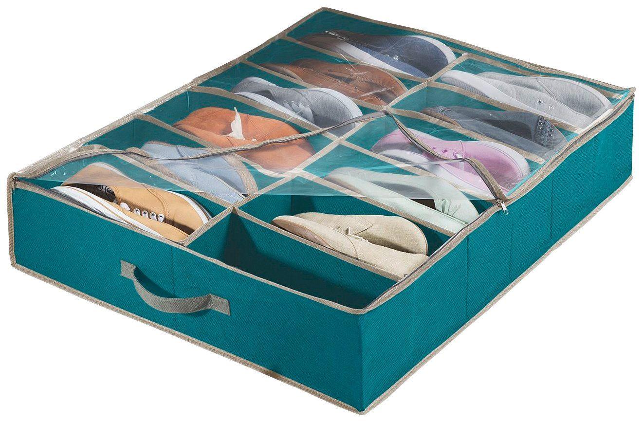 WENKO Unterbettkommode für Schuhe »Breeze, 2er Set«