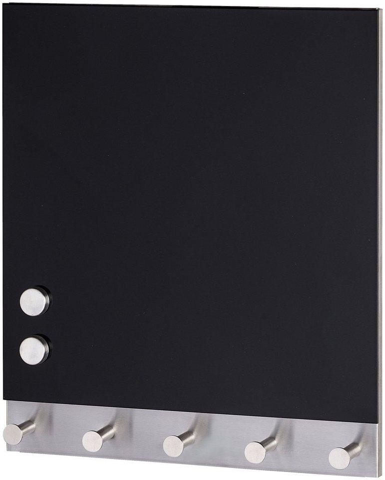 Wenko garderobenhaken magnetische garderobe black 5 for Garderobe 30 cm