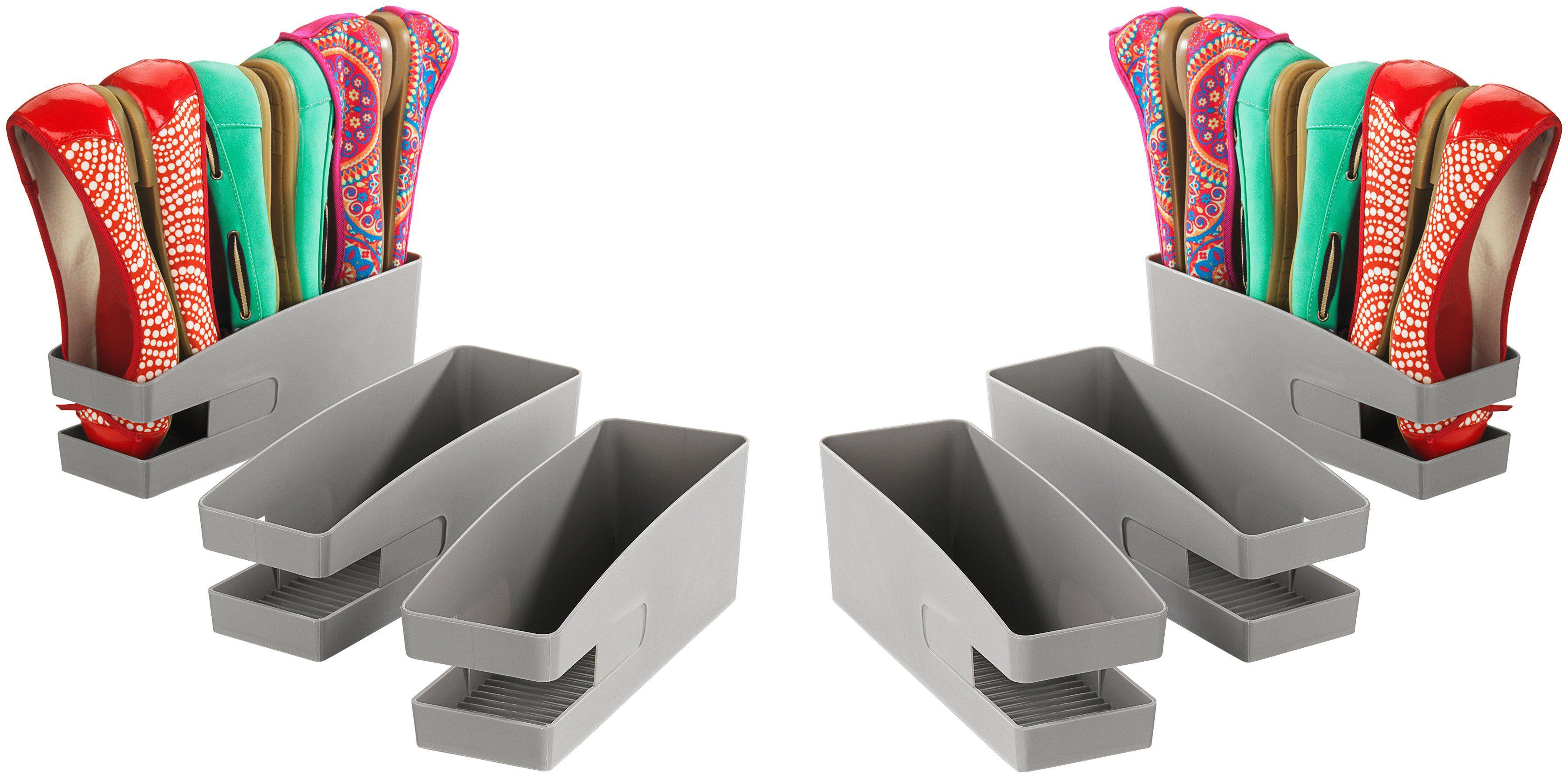 WENKO Schuhschrank »Schuhhalter für Ballerinas«, 6er Set, für bis zu 18 Ballerinas