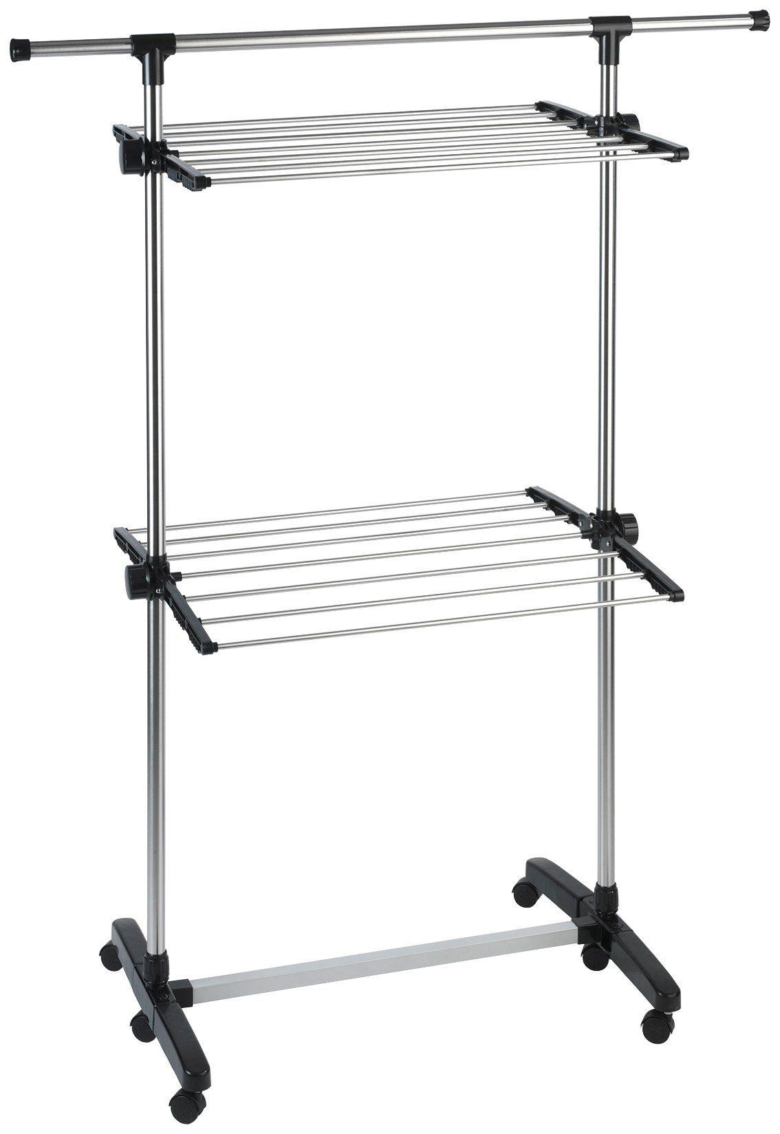 WENKO Wäschetrockner »Edelstahl, rostfrei« Maß 56x120x143 cm