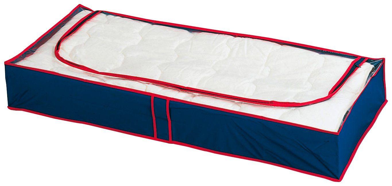 WENKO Unterbettkommode »Blau-Rot, 8er Set«