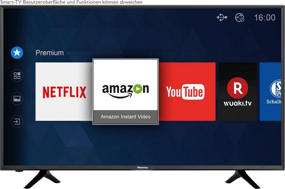 hisense h50nec5205 led fernseher 126 cm 50 zoll 4k ultra hd smart tv online kaufen otto. Black Bedroom Furniture Sets. Home Design Ideas