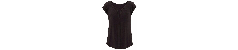 LASCANA T-Shirt mit besonderem Ausschnitt 100% Authentisch BvAeuqh