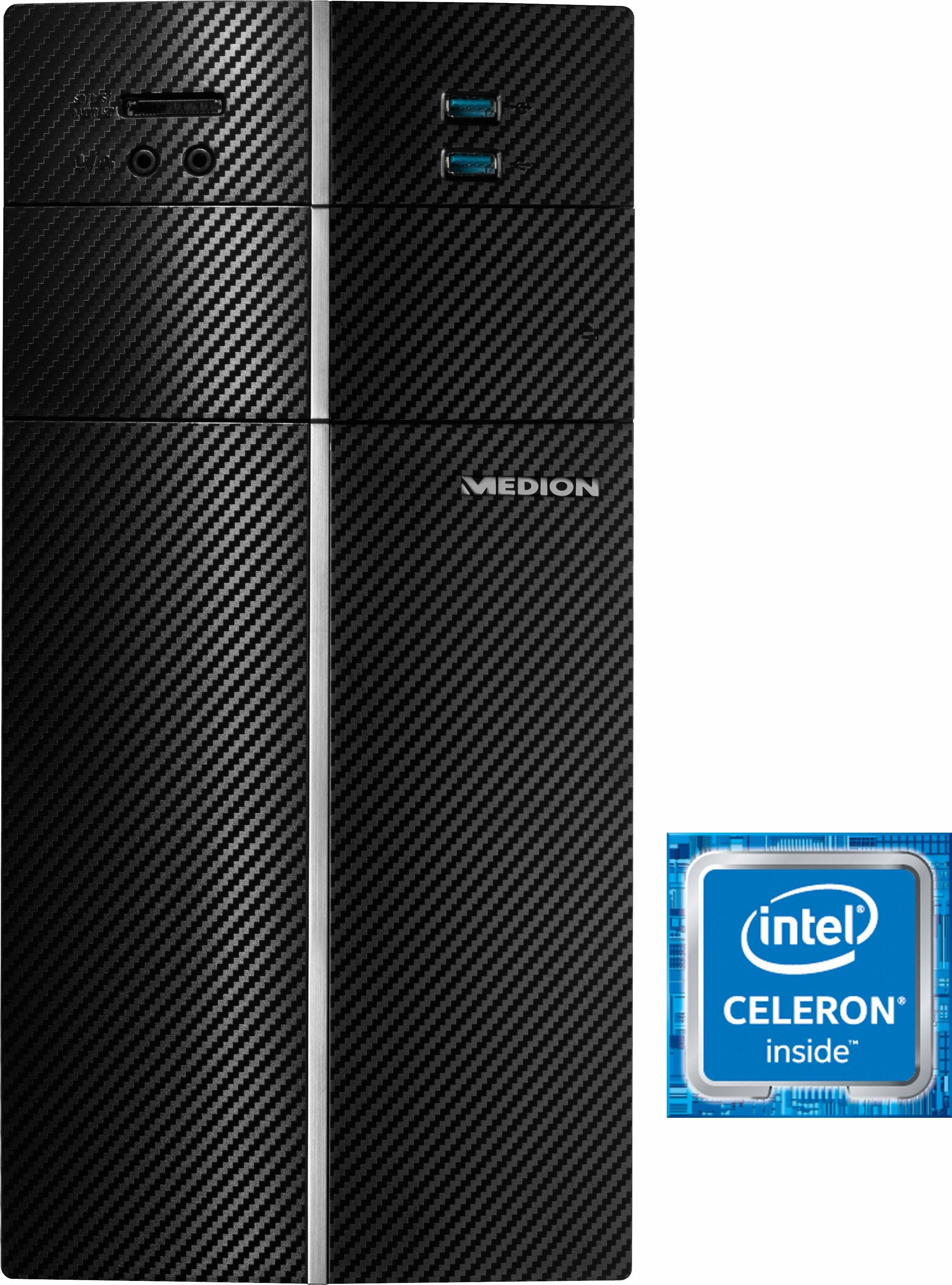 Medion® Akoya E20002 PC, Intel® Celeron™, 4096 MB, 1000 GB Speicher, Microsoft® Windows® 10 Home