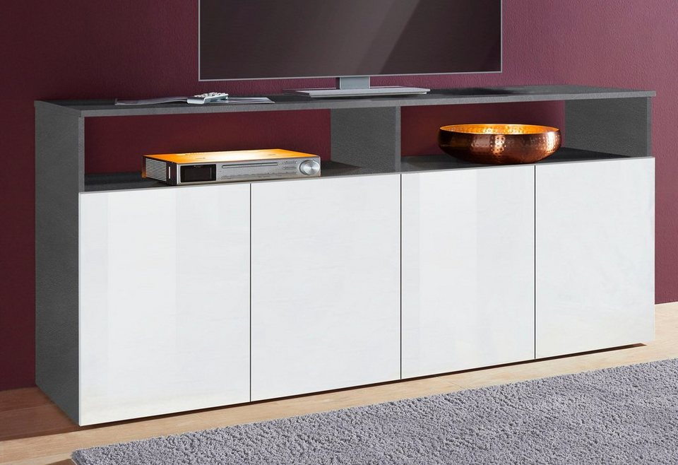 tecnos sideboard breite 180 cm online kaufen otto. Black Bedroom Furniture Sets. Home Design Ideas