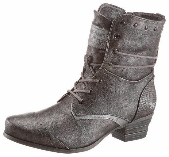 Mustang Shoes Schnürstiefelette, mit Lyralochung