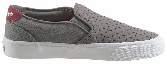 Superdry Dion Slip On Sneaker, With Fashionable Perforation