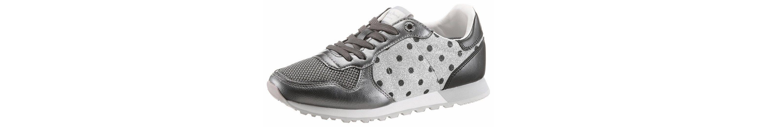 Pepe Jeans Verona Blim Sneaker, mit Glitzer-Einsatz